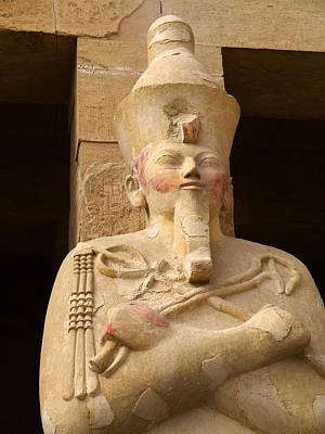 Ageless Egyptian Queen Poster by Brenda Kean
