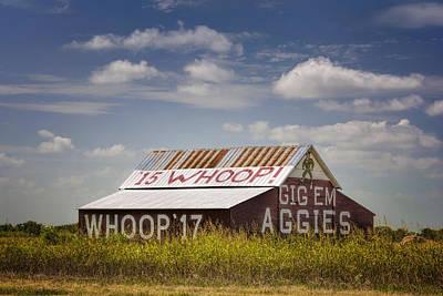 Aggie Barn II Poster by Joan Carroll