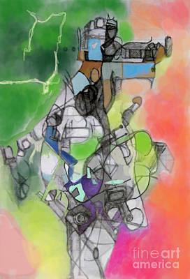 Self-renwal 10g Poster by David Baruch Wolk