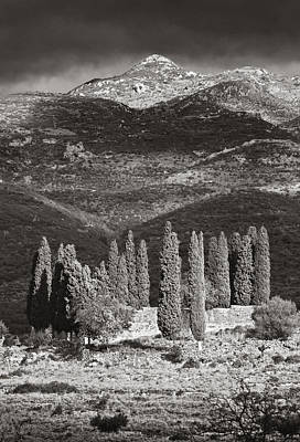Agios Georgiou Monastery Mani Greece Poster