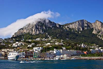 Ah Capri Poster by Walt  Baker