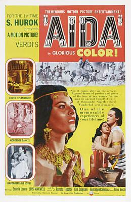 Aida, Us Poster Art, From Left Sophia Poster by Everett