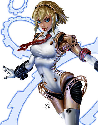 Aigis Poster by Pete Tapang