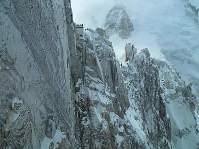 Aiguille Du Midi Mount Blanc Poster by Frank Wilson