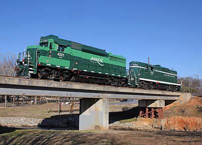 Aiken Railway 01/19/2014 Poster