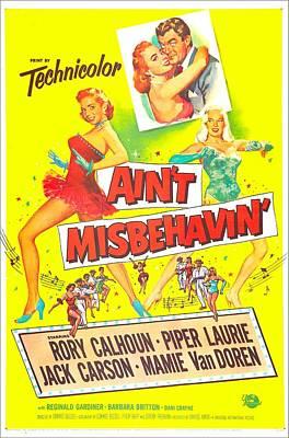 Aint Misbehavin, Us Poster, Inset Piper Poster by Everett