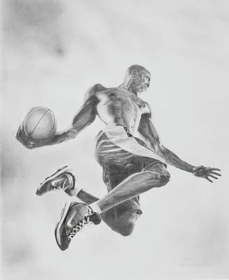 Air Ball Poster by Jennifer Whittemore