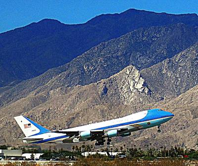 Air Force One 1 Poster by Ron Kandt