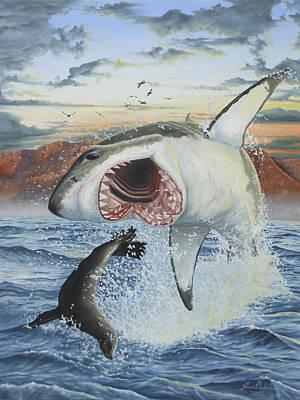 Air Jaws Poster by Jason Nicholson