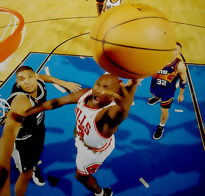 Air Jordan Easy Two Poster by Brian Reaves
