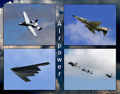 Poster featuring the photograph Air Power by John Freidenberg