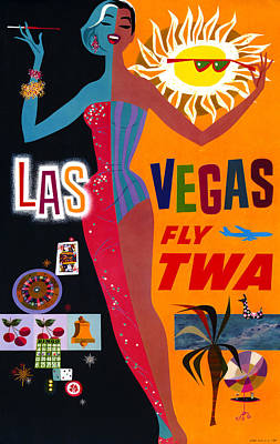 Airline Poster, C1962 Poster