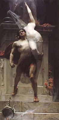 Ajax And Cassandra  Poster by Solomon Joseph Solomon