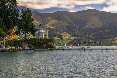 Akaroa Lighthouse Poster