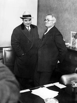 Al Capone Mafia Boss Poster