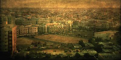 Al-khobar On Texture Poster