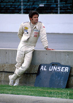 Al Unser Sr. At Indy Poster