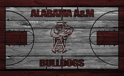 Alabama A M Bulldogs Poster