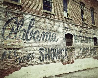 Alabama Fixture Poster by Brandon Addis