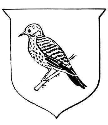 Alabama State Bird Poster
