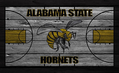 Alabama State Hornets Poster by Joe Hamilton