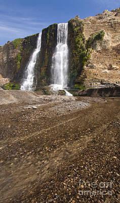 Alamere Falls On Crisp Day Poster by Matt Tilghman