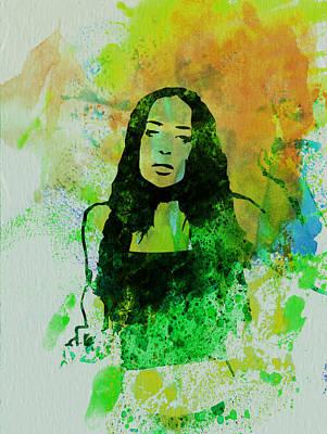Alanis Morissette Poster by Naxart Studio