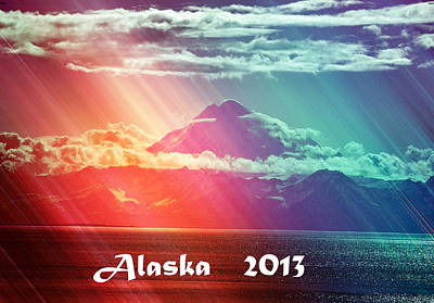 Alaska 2013 Poster by Debra  Miller