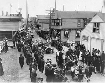 Alaska 4th Of July, 1915 Poster