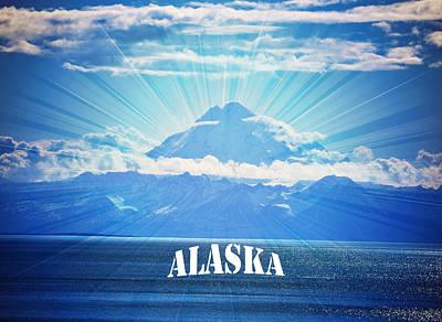 Alaska Poster by Debra  Miller