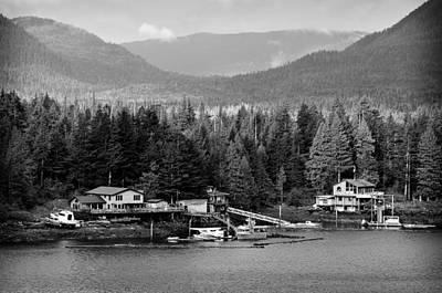 Poster featuring the photograph Alaska Homestead by Davina Washington