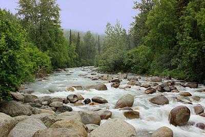 Alaska - Little Susitna River Poster by Kim Hojnacki