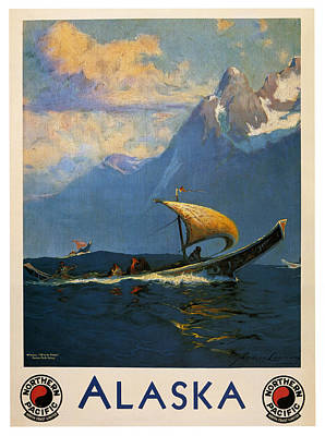 Alaska Poster by Georgia Fowler