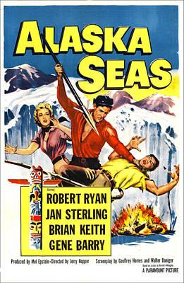 Alaska Seas, Us Poster, From Left Jan Poster by Everett