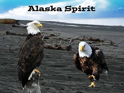 Alaska Spirit  Poster by Debra  Miller