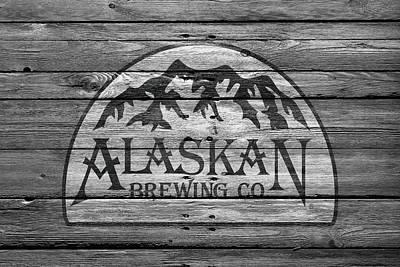 Alaskan Brewing Poster by Joe Hamilton