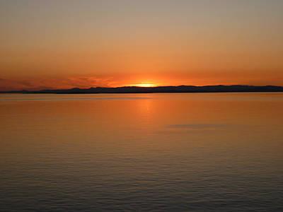 Alaskan Dawn Poster