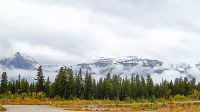 Alaskan Roadside Poster