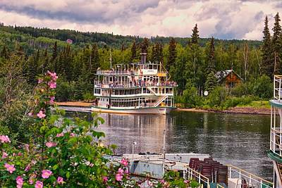 Alaskan Sternwheeler The Riverboat Discovery Poster by Michael Rogers