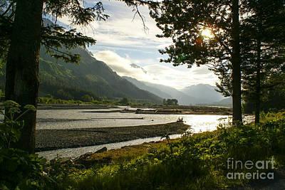 Alaskan Valley Poster