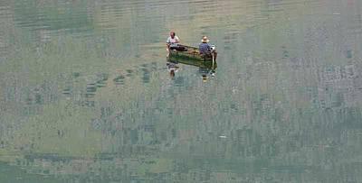 Albania. Lake Shkodra Poster by Ken Welsh