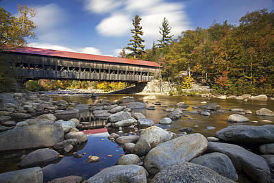 Albany Covered Bridge Poster by Eric Gendron