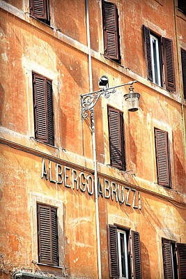 Albergo Abruzzi Poster by Valentino Visentini