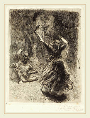 Albert Besnard, The Dancer Of Tanjore La Bayadère De Poster