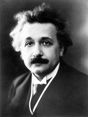 Albert Einstein Poster by Emilio Segre Visual Archives/american Institute Of Physics