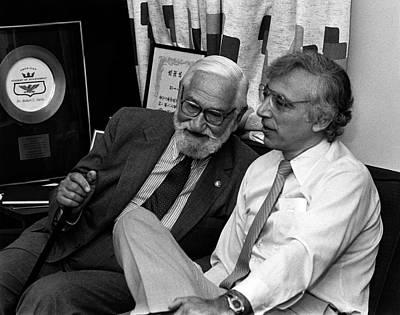 Albert Sabin And Robert Gallo Poster