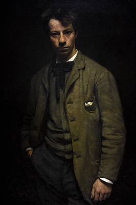 Albert Verwey 1865-1937. Dutch Poet. Portrait By Jan Veth 1864-1925 Poster