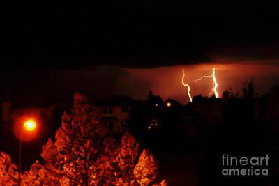Alberta Lightning Vi Poster