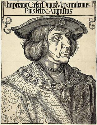 Albrecht Dürer German, 1471 - 1528, Emperor Maximilian Poster by Quint Lox
