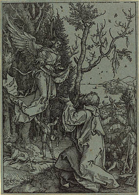 Albrecht Dürer German, 1471 - 1528, Joachim And The Angel Poster